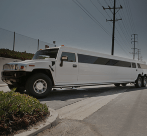 Custom Stretched White Hummer Limousine