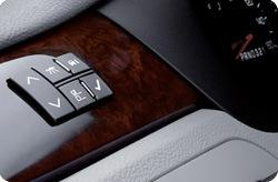 Cadillac sedan interior